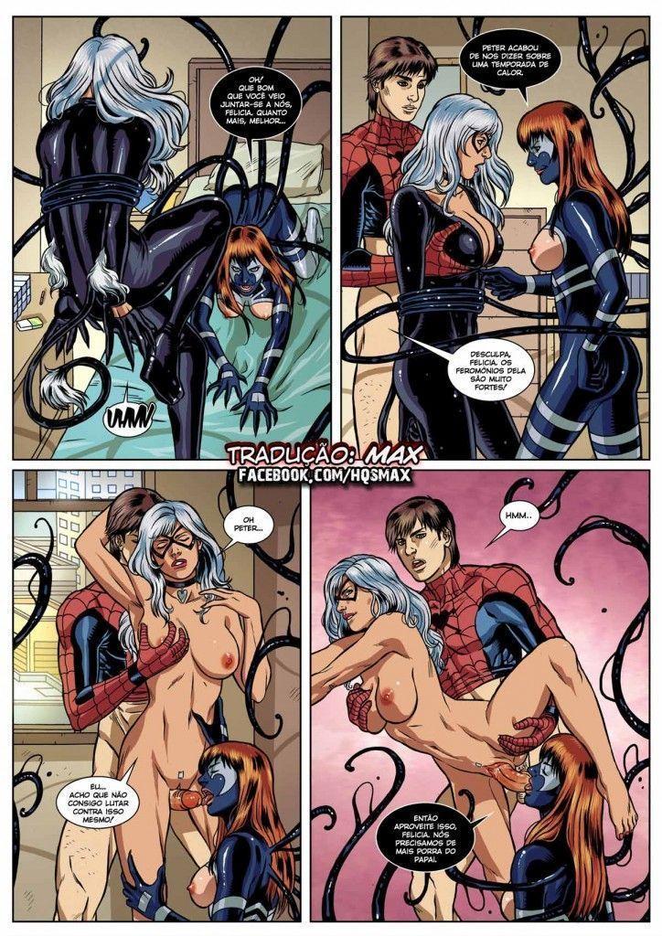 homem aranha erótico Symbiosis (10)