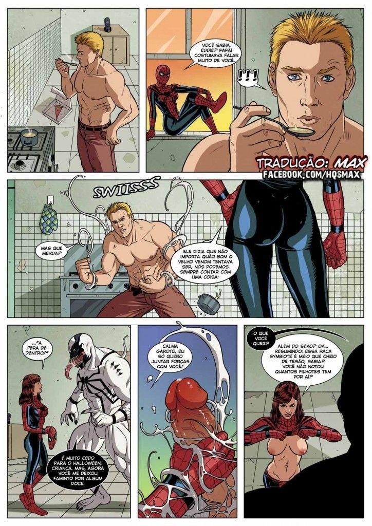 homem aranha erótico Symbiosis (18)