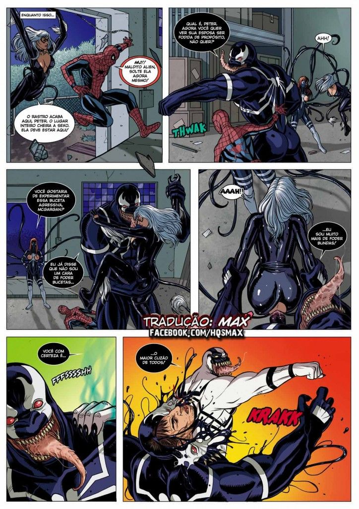 homem aranha erótico Symbiosis (21)