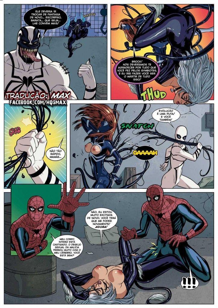 homem aranha erótico Symbiosis (22)