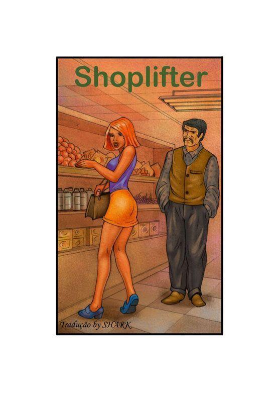 Shoplifter – quadrinhos porno