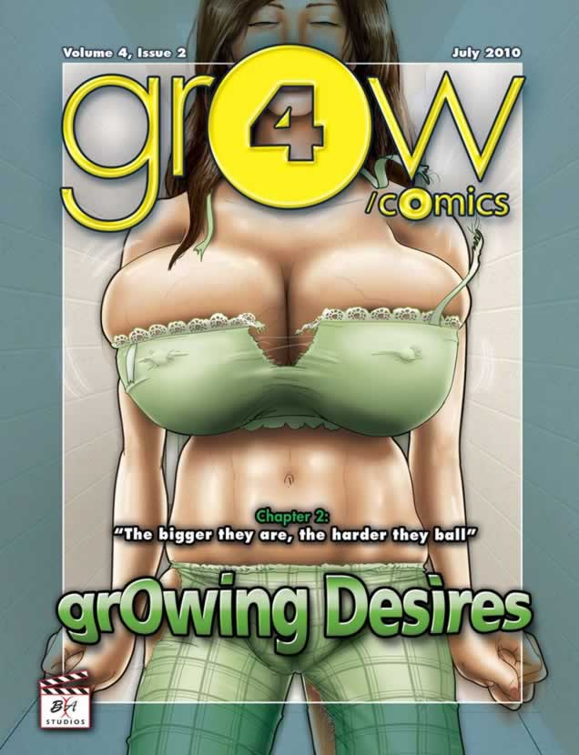Growing desires – hentai