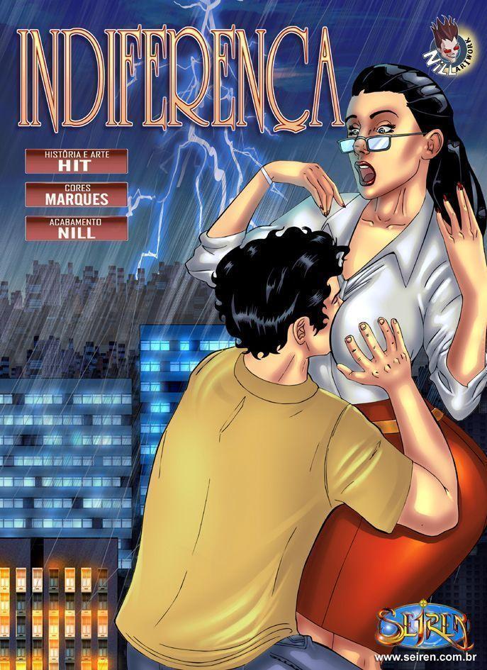 Indiferença – quadrinhos eroticos seiren