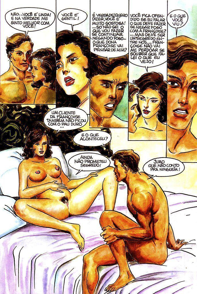 A casa dos prazeres – quadrinhos eroticos