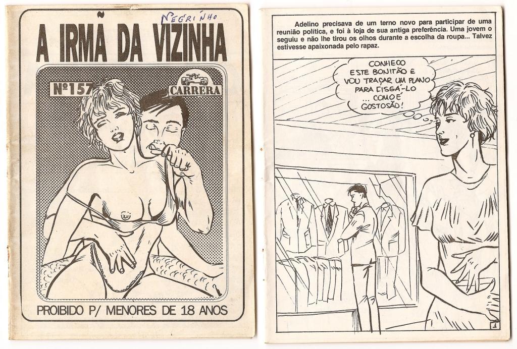 A Irma da Vizinha – Quadrinhos Porno