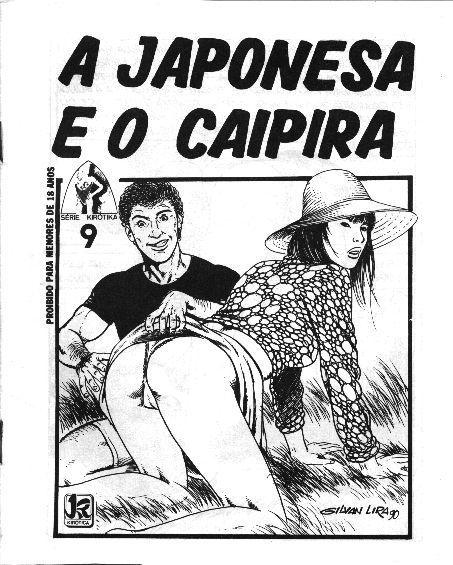 A Japonesa e o Caipira – Quadrinho Porno