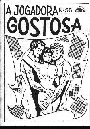 A Jogadora Gostosa – Quadrinho Porno