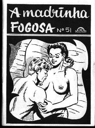 A Madrinha Fogosa – Quadrinho Porno – Incesto