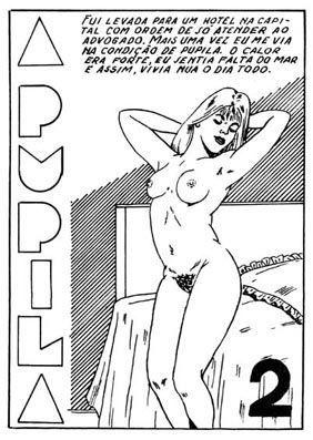 A Pupila 2 – Quadrinho Porno