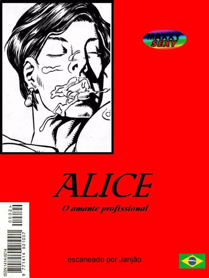 Alice e Amante Profissional – Quadrinho Porno