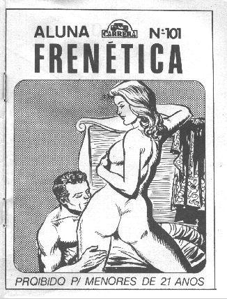 Aluna Frenetica – Quadrinho Porno