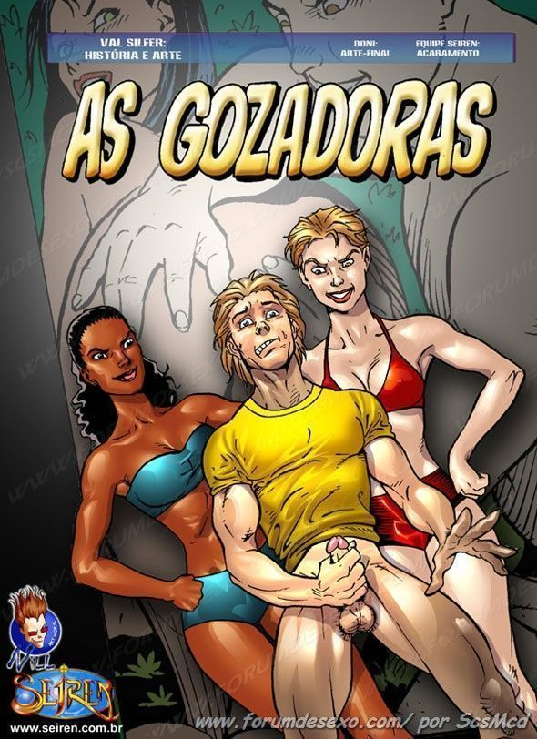 As Gozadoras – Quadrinho Porno