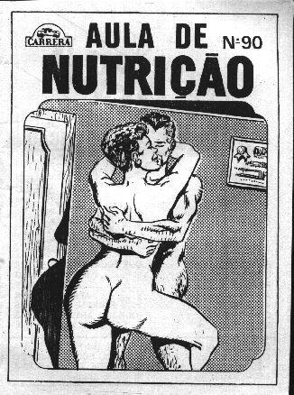 Aula de Nutriçao – Quadrinho Porno