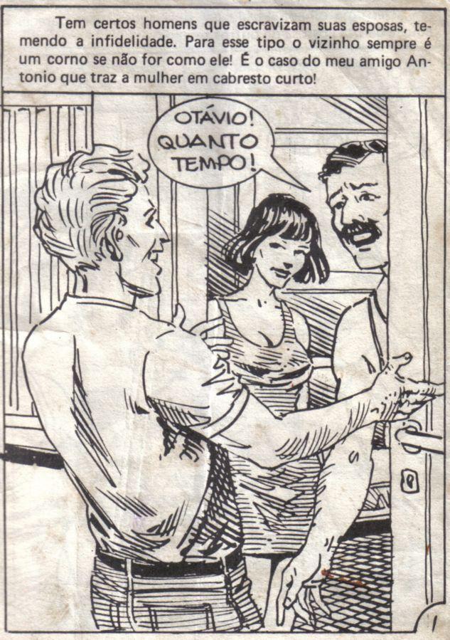 Carreras N.8 – Quadrinho Porno