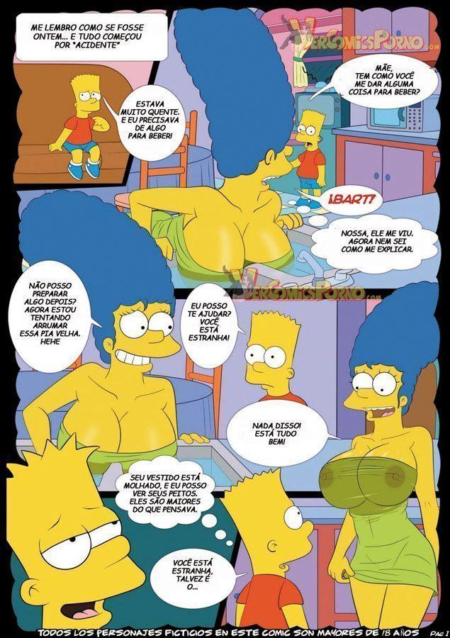 Os  Simpsons – Bart Tarado na Mamãe