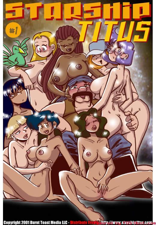 Starship Titus 1 – Quadrinho Porno