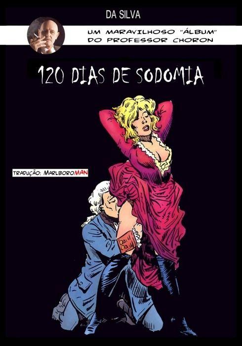 120 Dias de Sodomia – Quadrinhos Porno