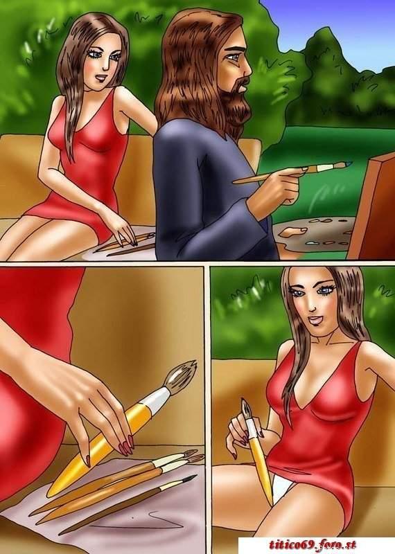 Fogosa modelo – Quadrinhos Eroticos