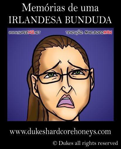 Irlandesa Bunduda – Interracial – Quadrinhos Porno