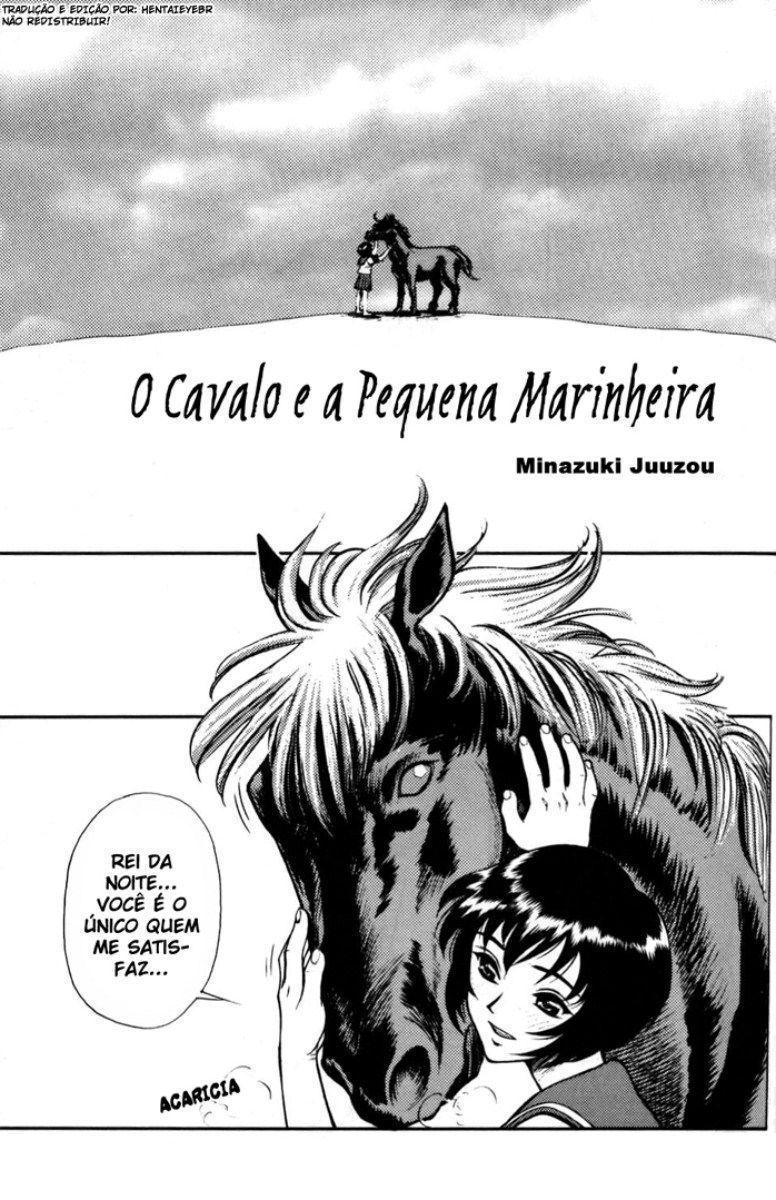 O cavalo e a pequena marinheira – Manga Hentai