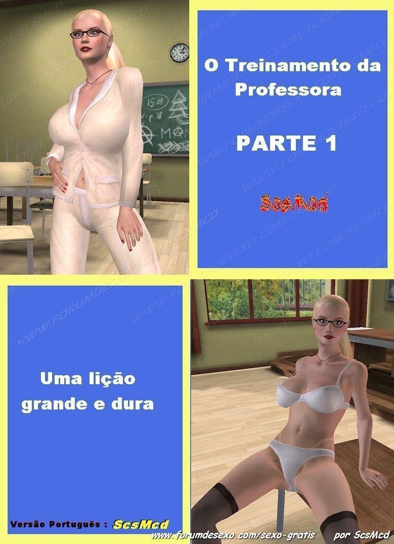 Treinamento da professora 1