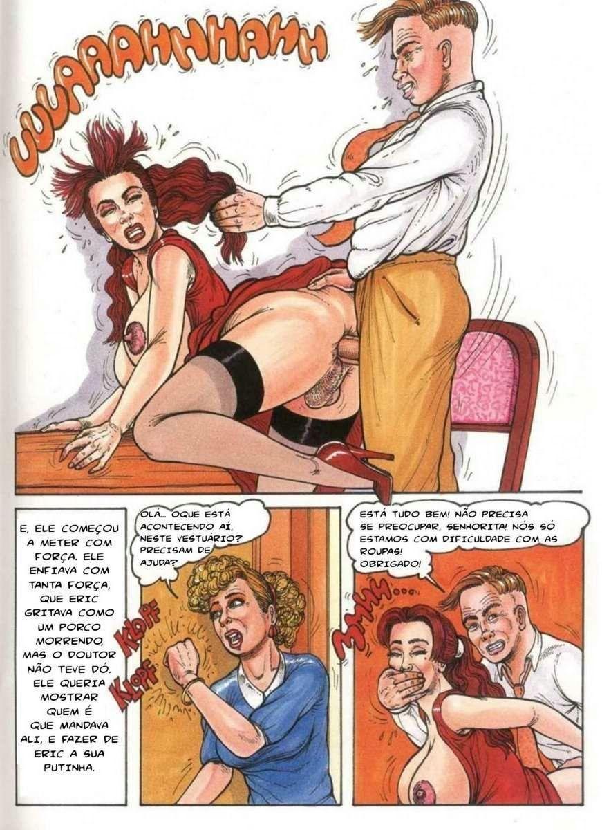Diabo taradão realizando futanari gostoso
