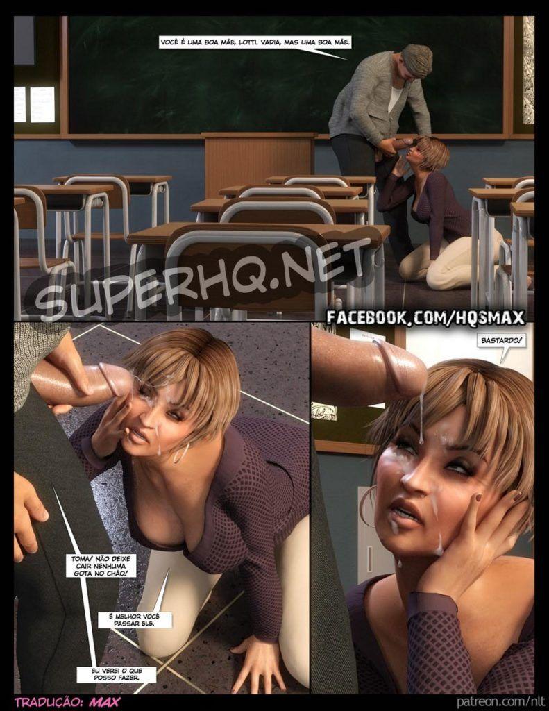 Mamando piroca pra ajudar filho na escola