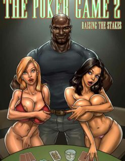 O jogo de poker 2 – quadrinhos interracial