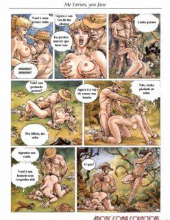 Threesomes 2 – Tarzan o rei da selva