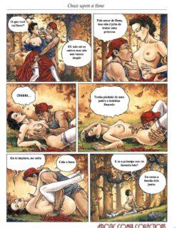 Threesomes 11 – Parodia branca de neve